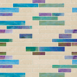 Earth & Art Glass/Stone Mosaic SGL005 | Glas Mosaike | Hirsch Glass