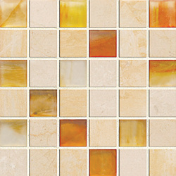 Earth & Art Glass/Stone Mosaic SG0007 | Glas Mosaike | Hirsch Glass