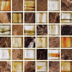 Earth & Art Glass/Stone Mosaic SG0004 | Mosaïques en verre | Hirsch Glass