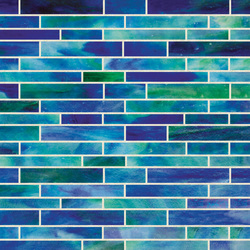 Murano Vena Glass Mosaic JS0144 | Mosaici in vetro | Hirsch Glass