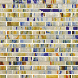 Braided JewelStone Glass Mosaic H01240 | Glas Mosaike | Hirsch Glass
