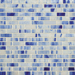 Braided JewelStone Glass Mosaic H00623 | Mosaici vetro | Hirsch Glass