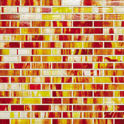 Braided JewelStone Glass Mosaic H00358 | Glas Mosaike | Hirsch Glass