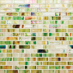 Braided JewelStone Glass Mosaic HI0123 | Mosaici vetro | Hirsch Glass