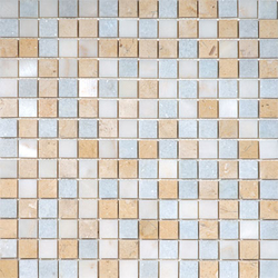 Beach House Foam Blend | Natural stone mosaics | AKDO
