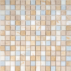 Beach House Sand Blend | Natural stone mosaics | AKDO