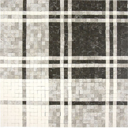 Balmoral Plaid Dark Olive | Natural stone mosaics | AKDO