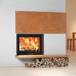 80x64S | Foyers fermés à bois | Austroflamm