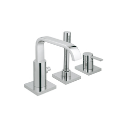 Allure Three-hole single-lever bath combination | Bath taps | GROHE