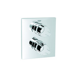 Allure Thermostat with integrated 2-way diverter | Bath taps | GROHE