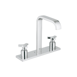Allure Three-hole basin mixer 1/2"
