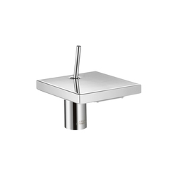 AXOR Starck X Single Lever Basin Mixer 100 without pull-rod DN15 | Wash-basin taps | AXOR
