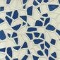 Gemme Del Golfo Bianco e Blu 34x34 | Piastrelle/mattonelle per pavimenti | Savoia Italia S.p.a