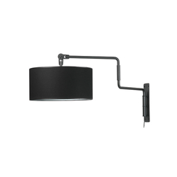 Swivel wall black | General lighting | Functionals