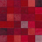 Forza del Colore rosso | Natural leather mosaics | Studio Art