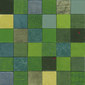Forza del Colore verde | Leather mosaics | Studio Art