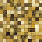 Forza del Colore oro | Leather mosaics | Studio Art