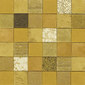 Forza del Colore oro | Natural leather mosaics | Studio Art