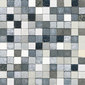 Forza del Colore argento | Natural leather mosaics | Studio Art