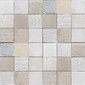 Texture bianco | Natural leather mosaics | Studio Art