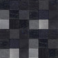Texture nero | Natural leather mosaics | Studio Art