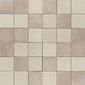 Opaco lucido beige | Natural leather mosaics | Studio Art