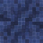 Opaco lucido blu | Natural leather mosaics | Studio Art
