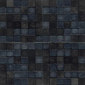 Opaco lucido nero | Natural leather mosaics | Studio Art