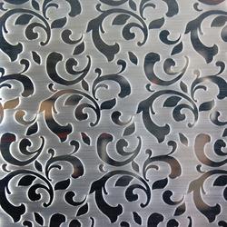 Floral | 310 | Paneles / placas de metal | Inox Schleiftechnik