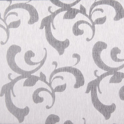 Floral | 300 | Sheets / panels | Inox Schleiftechnik