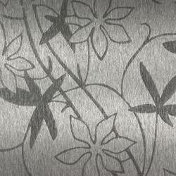 Flower | 100 | Paneles / placas de metal | Inox Schleiftechnik