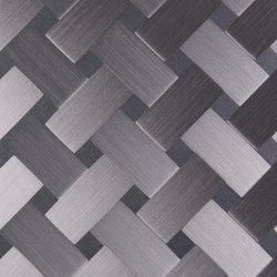 Aluminium | 120 | Carbon | Piastrelle metallo | Inox Schleiftechnik
