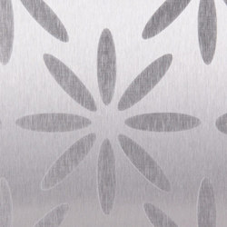 Blossoms | 110 | Metal sheets / panels | Inox Schleiftechnik