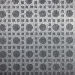 Circular mosaic | 130 | Paneles / placas de metal | Inox Schleiftechnik