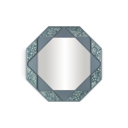 Eight Sided Mirror (blue) | Miroirs | Lladró