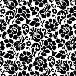 Decors | Structures Barock black | Plastic films | Hornschuch