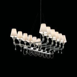 Domo Nevada | Ceiling suspended chandeliers | Barovier&Toso