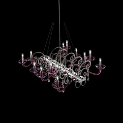 Mood Taymyr | Ceiling suspended chandeliers | Barovier&Toso