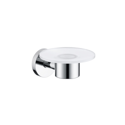 Hansgrohe Logis Glass Soap Dish | Soap holders / dishes | Hansgrohe