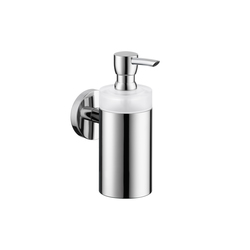 Hansgrohe Logis Glass Lotion Dispenser | Soap dispensers | Hansgrohe