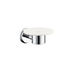 Hansgrohe Logis Classic Ceramic Soap Dish | Soap holders / dishes | Hansgrohe