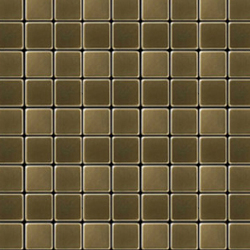 Glomesh Brass Tiles | Mosaïques métal | Alloy