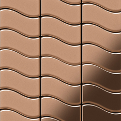 Flux Copper Tiles | Metal mosaics | Alloy