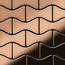 Kismet Copper Tiles | Mosaicos de metal | Alloy