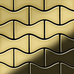 Kismet Brass Tiles | Metal mosaics | Alloy