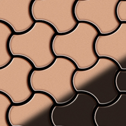 Ubiquity Copper Tiles | Mosaicos metálicos | Alloy