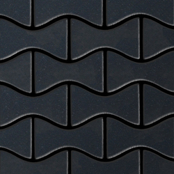 Kismet Raw Steel Tiles | Mosaïques | Alloy