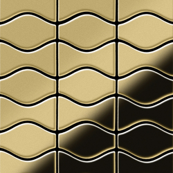 Kismet & Karma Brass Tiles | Metal mosaics | Alloy