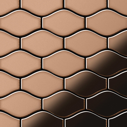 Karma Copper Tiles | Mosaicos | Alloy