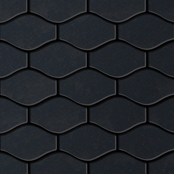 Karma Raw Steel Tiles | Mosaïques métal | Alloy